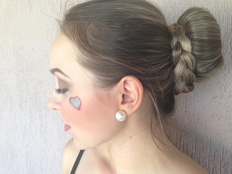 maquiagem carnaval coque 1
