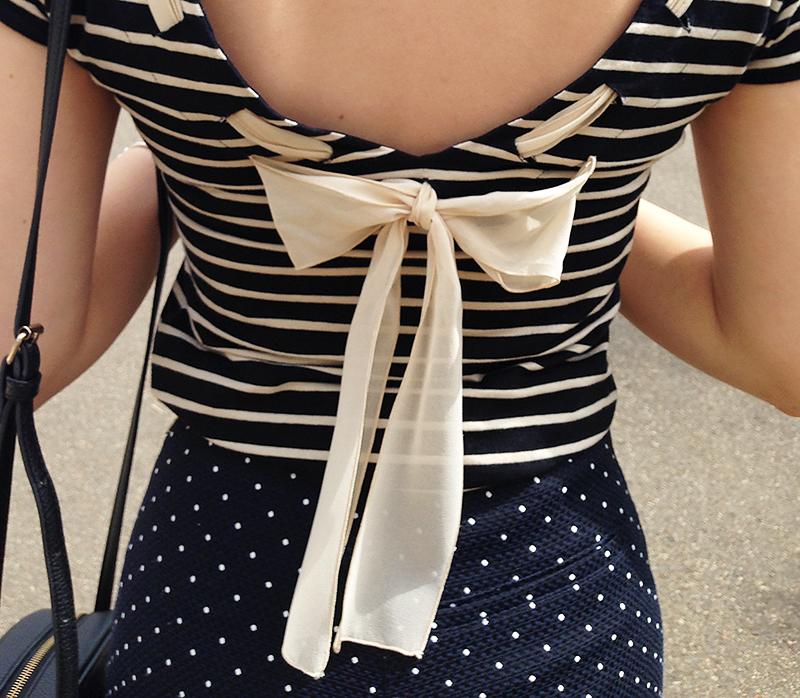 look do dia detalhes blusa