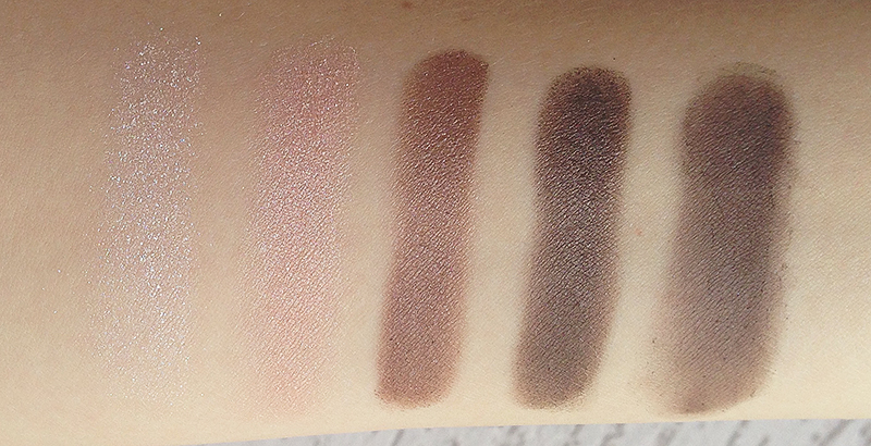 colorful 5 palette sephora swatch