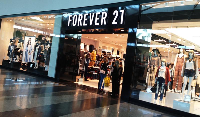 forever 21 parque dom pedro shopping 1