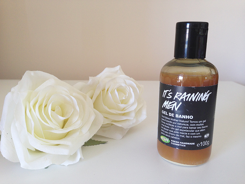 gel de banho its raining men lush 1