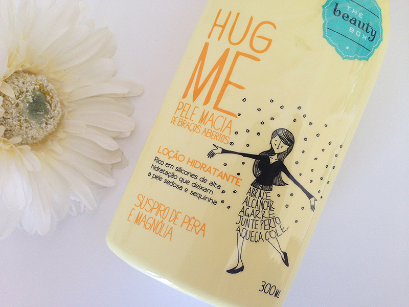 hidratante the beauty box hug me suspiro de pera e magnólia 2