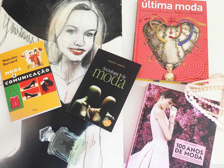 O começo da minha coleção de Livros de Moda! 1