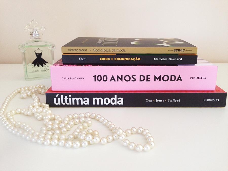 O começo da minha coleção de Livros de Moda! 2