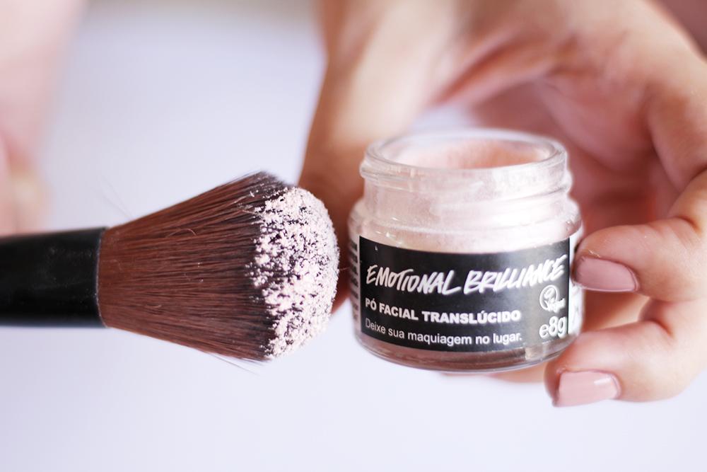 maquiagens lush pó translúcido emotional brilliance 2