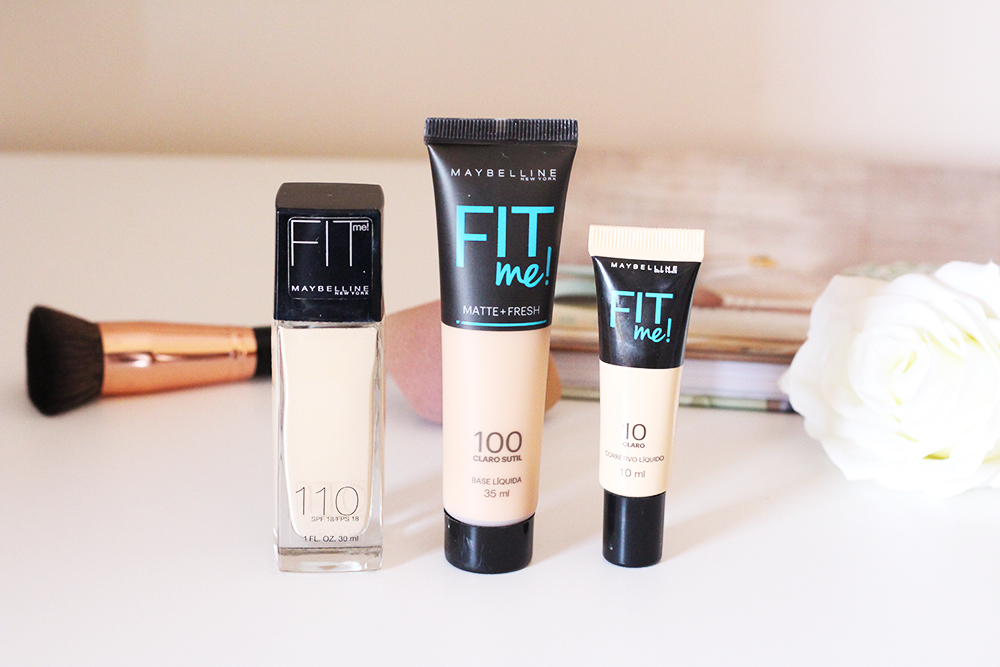 resenha corretivo e base fit me maybelline 5
