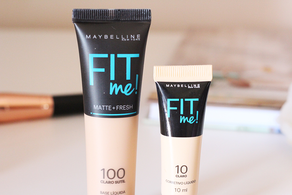 resenha corretivo e base fit me maybelline 8