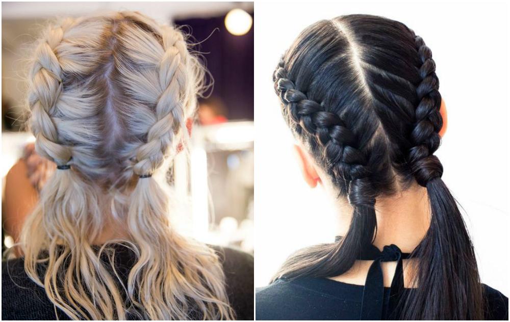 penteados com tranças Festa Junina 1