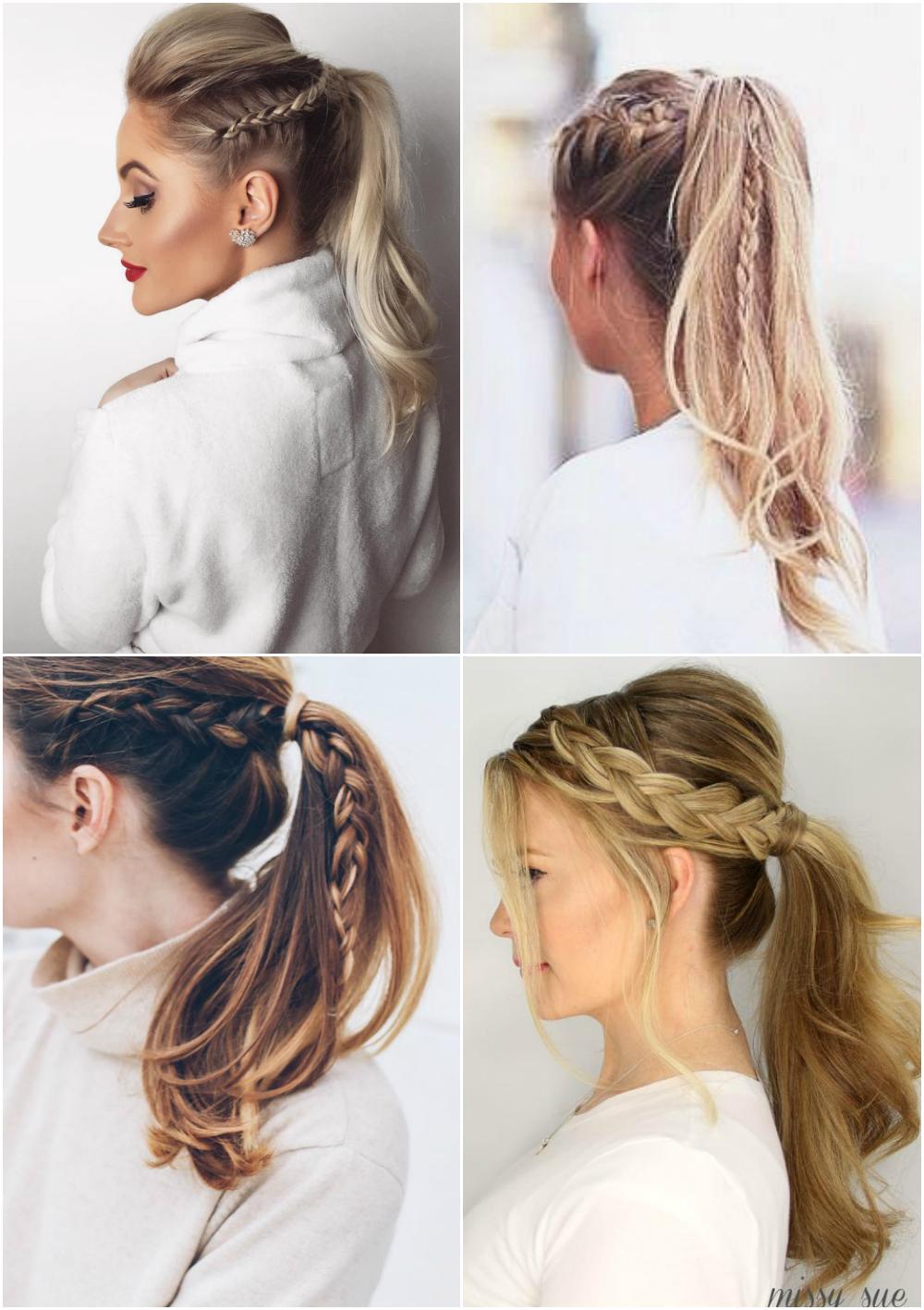 penteados com tranças Festa Junina 3