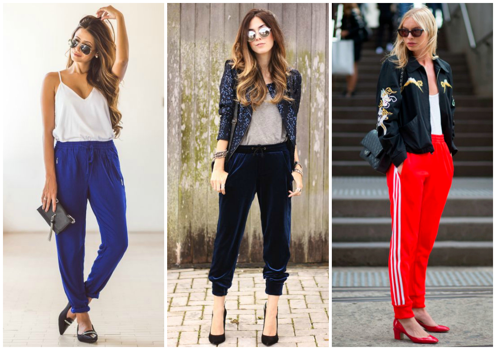 athleisure jogger pants