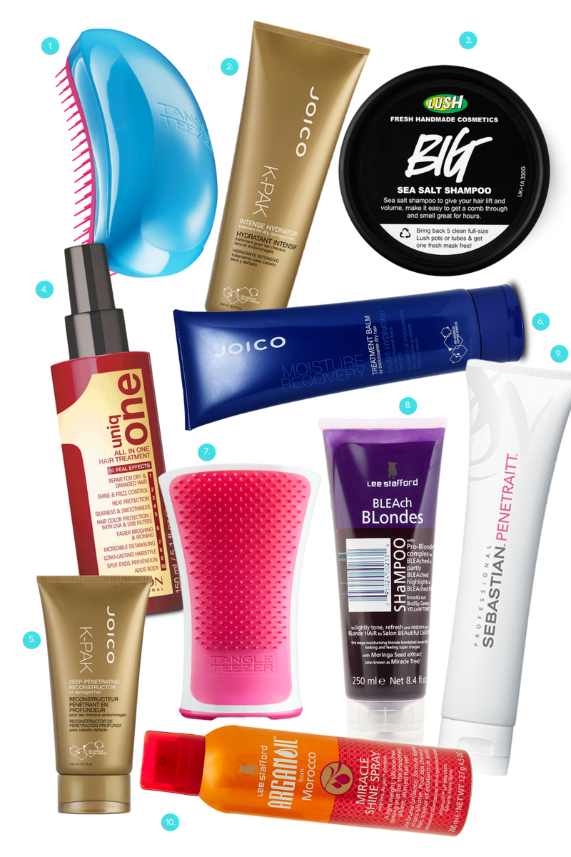 produtos para cabelo