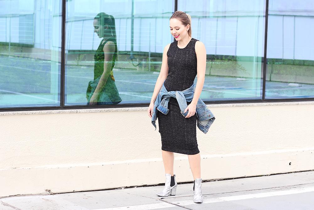 look vestido midi bota 2