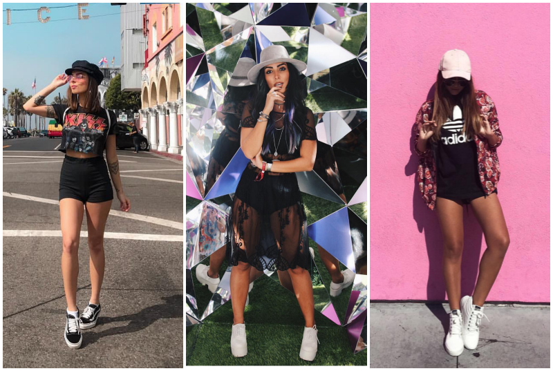 looks rock in rio bones e chapeus