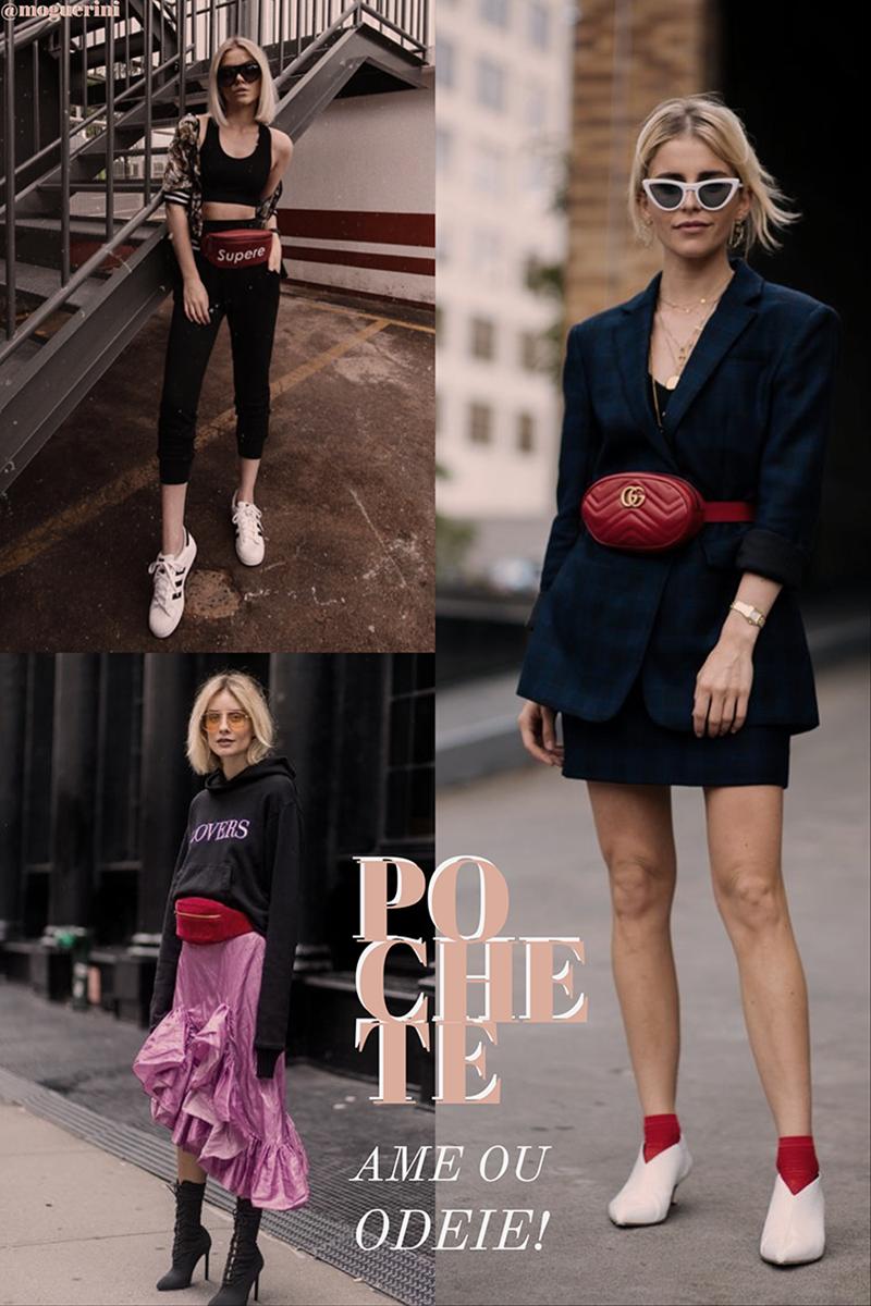 Previsoes Fashion para 2018 pochete